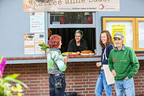 Bochum-Fonds –Kaffee anne Bude